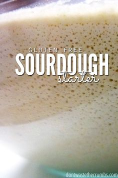 Interested in gluten free sourdough? Here's a post on how to make a gluten free sourdough starter!
