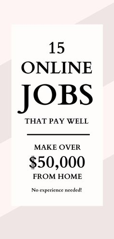 The best online jobs for beginners to make money from home. Ways To Earn Money, Earn Money Online, Way To Make Money, Legit Online Jobs, Make Money From Home, Hustle, Business, Tips, Make Money Online
