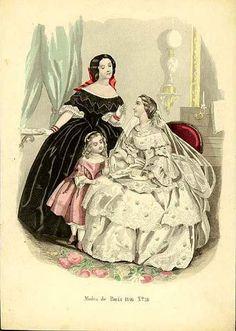 Bridal costume, 1856