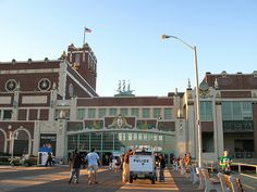 Asbury Park, NJ boardwalk - Paramount Theater / Convention Hall