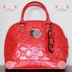 Bolsa GRANDE De Mano Loungefly Color Naranja Hello Kitty