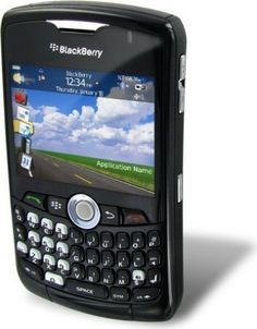 RIM Blackberry Curve 8320 Unlocked GSM Camera QWERTY Wifi Phone (Black) - For Sale