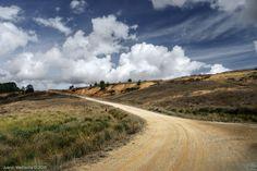 Caminos de tierra ~ Fotografía Juanjo Mediavilla