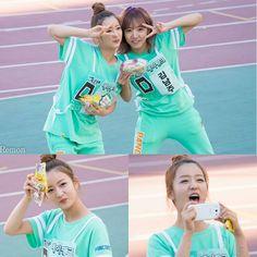 [130903] Apink at Idol Star Athletics Championships || by Remon  - She's forever like a small kid  - And omg eunji on king of masked singer  - #Apink #parkchorong #chorong #yoonbomi #bomi #sonnaeun #naeun #jungeunji #eunji #kimnamjoo #namjoo #ohhayoung #hayoung #kpop #에이핑크