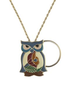 Owl Charmed Life Magnifier Necklace