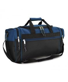 Blue Purper Light Duffel Bag Vintage Weekender Overnight Bag Travel Tote Luggage Sports Duffle