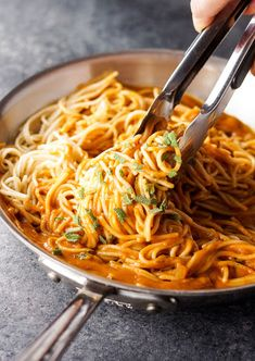 Vegan Tuscan Pumpkin Pasta Sauce With Extra-virgin Olive Oil, Yellow Onion, Garlic, Tomatoes, Pumpkin Purée, Water, Salt, Ground Cinnamon, Pure Maple Syrup, Coconut Milk, Sage