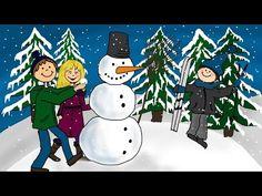 ▶ Weihnachtslieder deutsch - Schneeflöckchen, Weißröckchen - YouTube