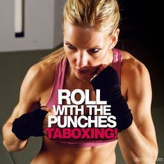 Roll With The Punches-Taboxing is an awesome combo of tabata and boxing!  #cardio #fatburn #taboxing #boxing #tabata
