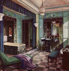 47 Best Interior 1920s Art Deco Images Bedroom Vintage Vintage