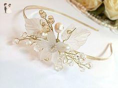 FloweRainboW wedding headband bridal tiara crown - Bridal hair accessories (*Amazon Partner-Link)