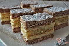 Czech Recipes, Ethnic Recipes, Graham Crackers, Carrot Cake, Nutella, Tiramisu, Sweet Tooth, Food Porn, Food And Drink