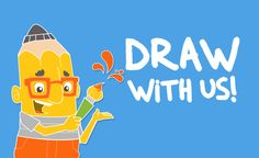 """Great news from Fox & Sheep! Their """"Draw with Us"""" app is FREE TODAY on iOS! (down from $2.99) Free Games For Kids, Windows Phone, Ipod Touch, Sheep, Free Apps, Pikachu, Ios, Draw, Children"""