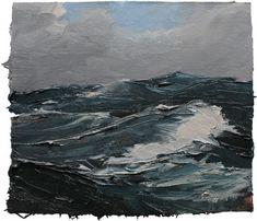 Open Water II vom großartigen Hamburger Maler Lars Möller
