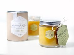Burn cleaner & non-toxic with beeswax candles. Pure Handmade Beeswax Candles, via Etsy