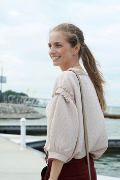 J.CREW SAMMIE CHINO PANT, INTROPIA TEXTURED BLOUSE WITH SLEEVES DETAILS, GUCCI SOHO LEATHER SHOULDER BAG, MARGOT AND MILA PENDANT KEY WITH PRECIOUS STONE, FASHION, LAKE LIGHTHOUSE HARBOUR, TEXAS.jpg