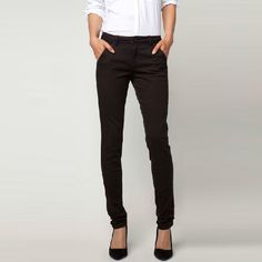 New Arrival Autumn Black Skinny Mid Waist Casual Oversized Pants only $32.99 at http://www.wendybox.com/goods-4824-New+Arrival+Autumn+Black+Skinny+Mid+Waist+Casual+Oversized+Pants.html