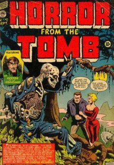 Horror From The Tomb, Vintage Comic Book - Metal Print Archie Comics, Sci Fi Comics, Horror Comics, Horror Art, Vintage Comic Books, Vintage Comics, Comic Books Art, Comic Art, Book Cover Art
