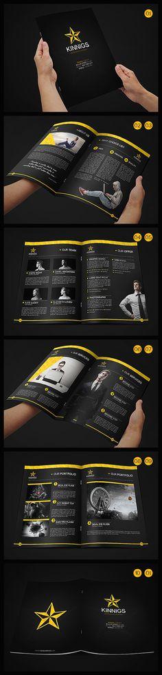 Business Brochure Design Inspiration