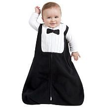Please let me have a little boy...  He will be sporting this awesome piece as often as possible!  Halo Boys Black Tuxedo Fleece SleepSack - Black (Small)