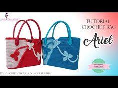 Marvelous Crochet A Shell Stitch Purse Bag Ideas. Wonderful Crochet A Shell Stitch Purse Bag Ideas. Diy Crochet, Crochet Crafts, Tutorial Crochet, Love Crochet, Crochet Shell Stitch, Macrame Bag, Diy Purse, Crochet Handbags, Purse Patterns