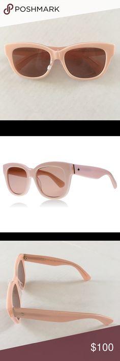 50c283f32e26 kate spade Lorelle Pale Pink Sunglasses Tag wrap still on