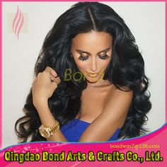 8bb0f831343 Brazilian virgin hair body wave 3 bundles ... Human Hair Lace Wigs