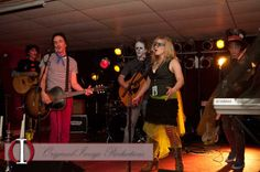 "Vincent Gates, James Hall, Jimm McIver, Andrea Wittgens, and Connor MacDonald perform ""Step Into the Light"" at Cherry Lanes during Dark Songs (photo by Original Image Productions) Dark Songs, Halloween Party Costumes, Original Image, Gates, Cherry, The Originals, Concert, Concerts, Cherries"