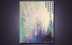 Charmed Night  20 x 16 Modern Abstract by ReitenourPaintings, $39.99