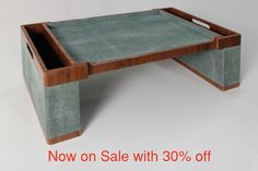 Luxury shagreen bed tray. Lincoln green shagreen bed tray. Unique shagreen tray. Luxury shagreen bed tray for home interior design, decor. Unique shagreen tray. Modern chic shagreen furniture design, shagreen coffee tables, shagreen console table, shagreen lamp table & shagreen mirrors. Unique luxury birthday Easter wedding gift, present ideas for men & women, shagreen boxes, shagreen jewellery boxes, shagreen photo frames, shagreen valet trays. Modern shagreen bed tray design. Easter gift…