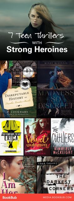 Check out these 7 young adult thriller books to read. These are perfect for teens and adults alike!