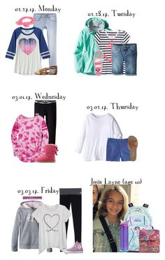 """School This Week for Josie {02.27.17 - 03.03.17} 