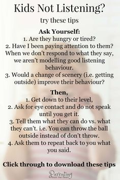 Your kids will listen if you do this. Use these practical positive parenting tips to improve kids listening It's so frustrating to repeat ourselves endlessly. These positive parenting strategies work in a way that kids will listen (almost) every time. Education Positive, Positive Discipline, Toddler Discipline, Kids And Parenting, Parenting Hacks, Parenting Classes, Parenting Plan, Parenting Styles, Peaceful Parenting