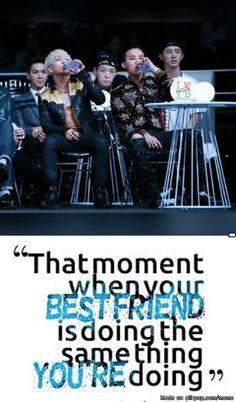 That awesome moment Vip Bigbang, Daesung, Lee Hi, Gd & Top, Dont Judge People, Akdong Musician, Winner Ikon, U Kiss, Choi Seung Hyun