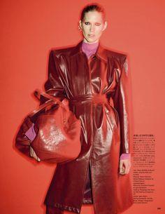 Vogue Japan by Ezra Petronio - Make Up by Karim Rahman
