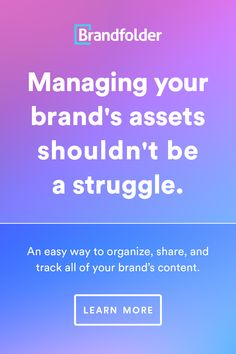 Creatives & Brand Builders: Organize creative assets easily with Brandfolder. Branding Your Business, Start Up Business, Digital Asset Management, Brand Assets, Of Brand, Startups, Organize, Finding Yourself, Knowledge