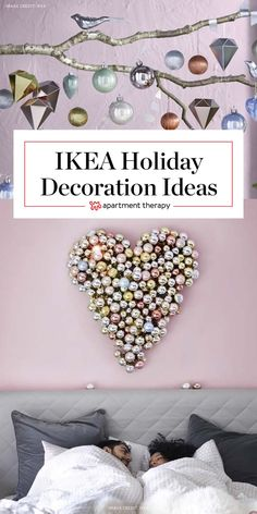 11 IKEA Holiday Decorating Ideas Worth Stealing | It's always fun flipping through an IKEA catalog, looking at all the new stuff, and imagining how it might look in our own home. Their winter holiday collection is an extra bonus this time of year, filled with festive decorations and — most importantly — fresh decorating and styling ideas.