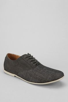 4aa08200c42 Urban Outfitters - Black Hawkings Mcgill Fabric Oxford Shoe for Men - Lyst