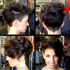 Black Girl Curly Pixie Cuts - Bing Images
