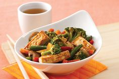 Turbo Tofu Stir-Fry Recipe | Hungry Girl  Makes 4 servings, each 3 smart points