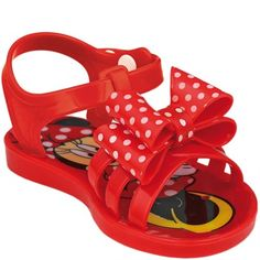 buyinvite.co.nz - Disney Girls Minnie Mouse Caged Jelly Sandals