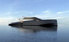 Amnesia yacht concept by Alessandrini Letizia - Nautech News Yacht Design, Boat Design, Luxury Yachts, Luxury Boats, Sport Boats, Float Your Boat, Yacht Boat, Super Yachts, Amnesia
