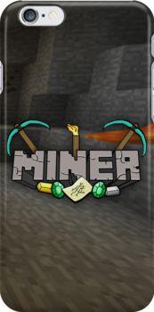Minecraft Miner Shirt by InkDudeDesigns (YanaiTheFIRST)