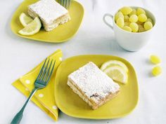 Karen Fairchild of Little Big Town shares a story and recipe about her favorite holiday treat, lemon bars.