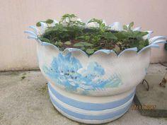 15 €: vasos originais de pneus para alegrar o seu jardim