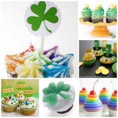 Good Luck In a Cup: 20 St. Patrick's Cupcake Ideas