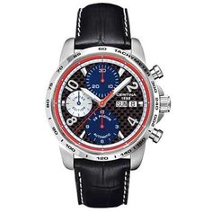C674.7029.42.96 Certina ROBERT KUBICA Limited Edition Chronograph Automatic Stee Price $1,302 . www.watcheshead.com