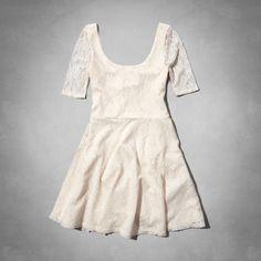 girls lace skater dress
