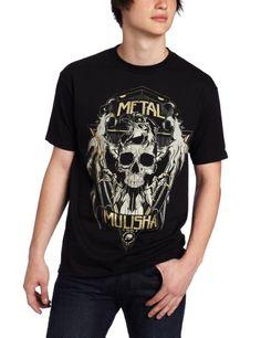 Metal Mulisha Men`s H74-Eagle Short Sleeve Tee