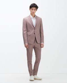 Image 1 of EXTRA FINE WOOL SUIT from Zara